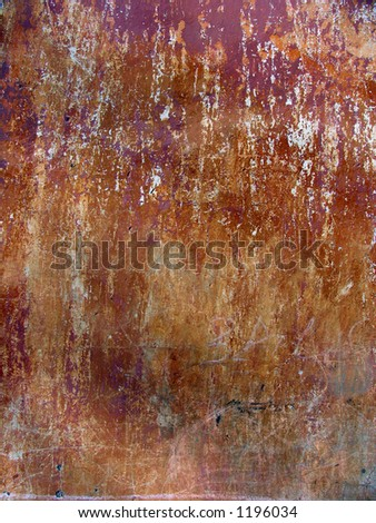 Old dark Wall background - stock photo