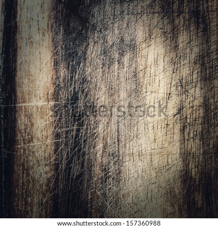 Old dark wood texture, vintage natural oak background with wood's grain. Grunge wooden background. - stock photo