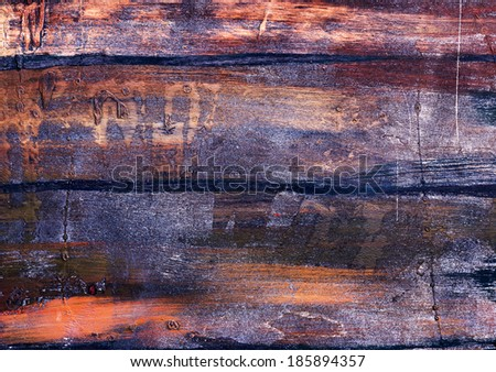 Old dark wood texture with natural patterns as the magnificent creative fashion background