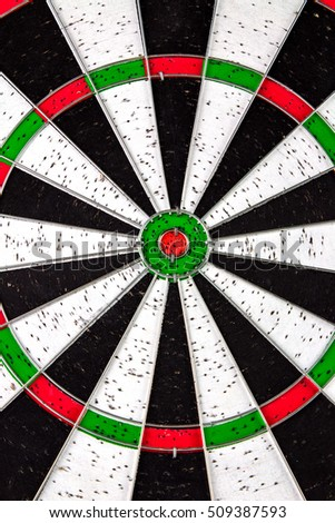 Old Dartboard Background.