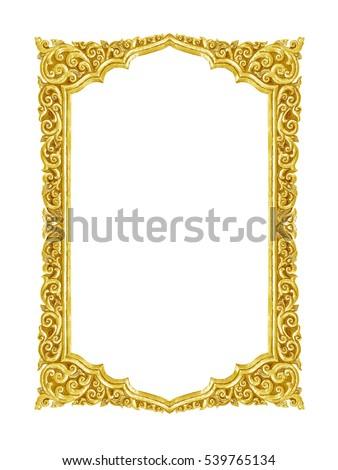 Gold Frame Im 225 Genes Pagas Y Sin Cargo Y Vectores En Stock