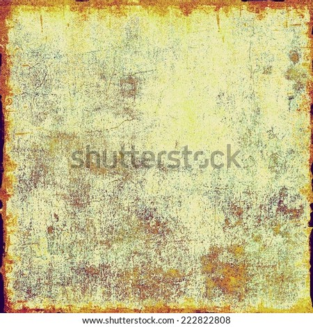 Old designed texture as abstract grunge background - stock photo