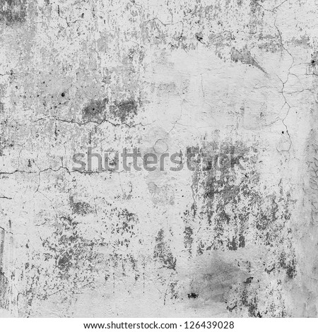 Old Dirty Gray Wall Pattern. Close Up Background - stock photo