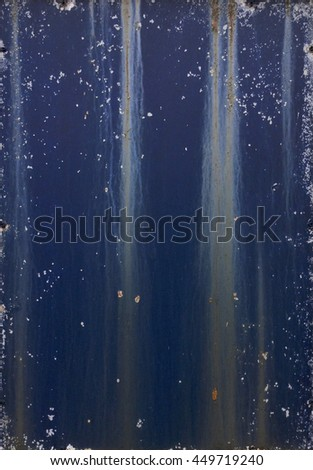 Old dirty metal surface with lines - stock photo