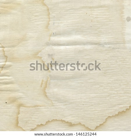 old dirty paper, paper texture, can be used as background  - stock photo