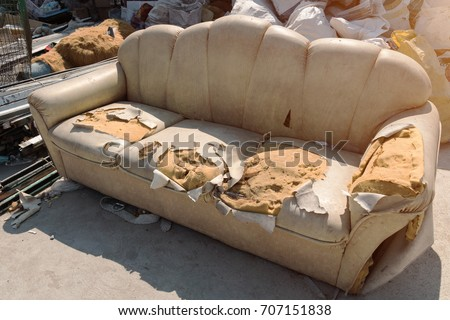 Outstanding Sofa Is Torn Stock Images Royalty Free Images Vectors Short Links Chair Design For Home Short Linksinfo