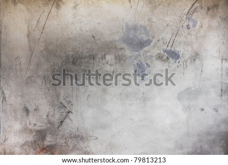 old dirty texture, grey wall background - stock photo