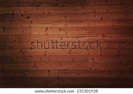 old dirty vintage shby brown wooden background - stock photo