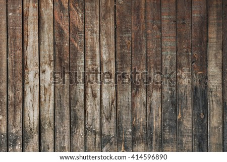 old dirty wooden wall - stock photo