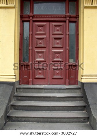 Old Doors and Steps
