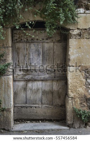 Old doorway found in France
