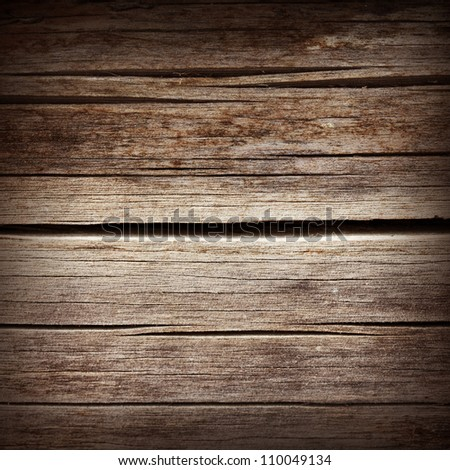 old dried wood texture background - stock photo