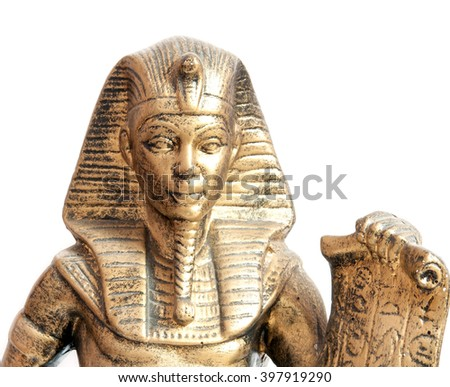 old Egyptian pharaoh Statue