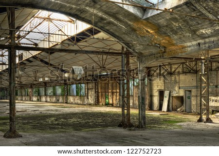 Old empty warehouse