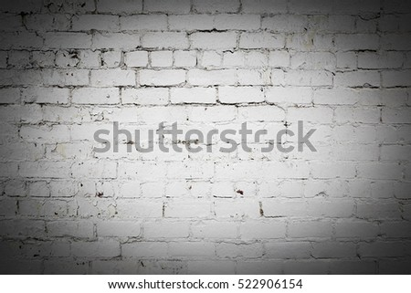 Old exterior brick wall stock photo 519172747 shutterstock - Exterior paint peeling concept ...