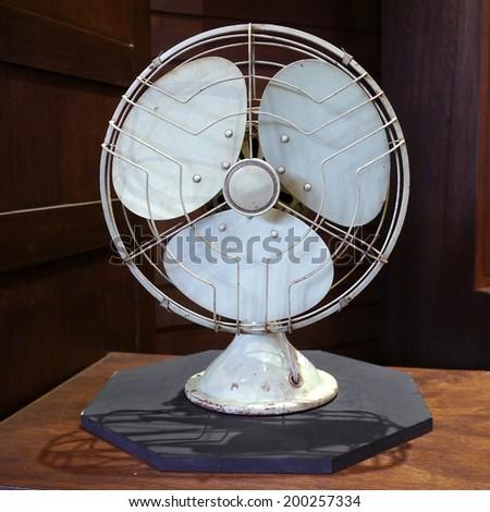 Old fan - stock photo
