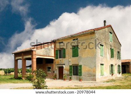 Old farmstead - stock photo