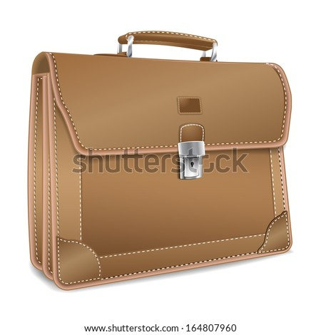 Old Fashion Leather Briefcase