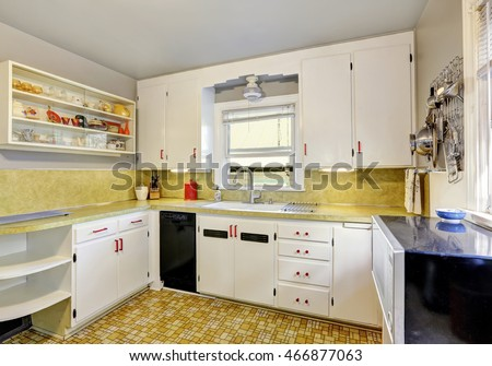 Old fashioned stock images royalty free images vectors for Old fashioned white kitchen cabinets