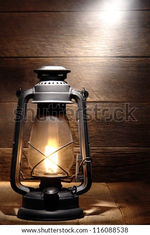 Old Fashion Solar Outside Lamps
