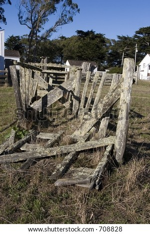 Old Fence at Ranch