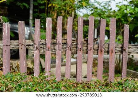 old fence background pattern