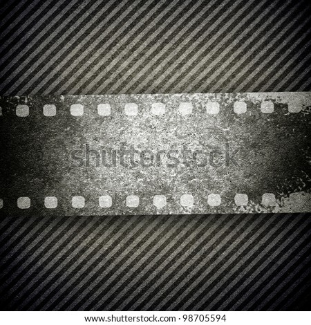 old film background - stock photo