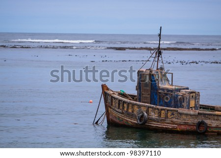 Old Fishing Boat, Port Nolloth