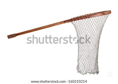 old fishing net - stock photo