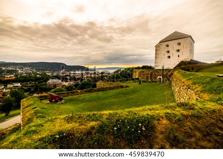 Old fort in Trondheim