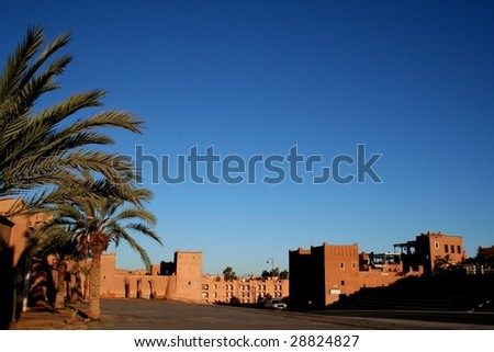 Old Fort - the kasbah in ouarzazate
