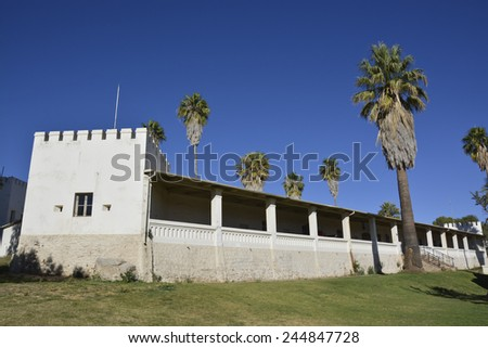 Old Fortress, Alte Feste, Windhoek, Namibia, Africa - stock photo