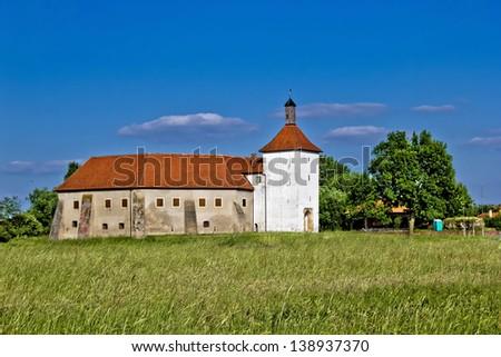 Old fortress in Durdevac, Podravina,  Croatia - stock photo