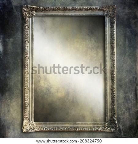 Old frame  - stock photo