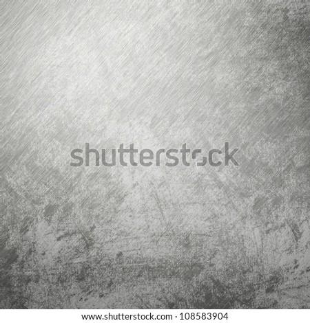 Old galvanized sheet of metal - stock photo