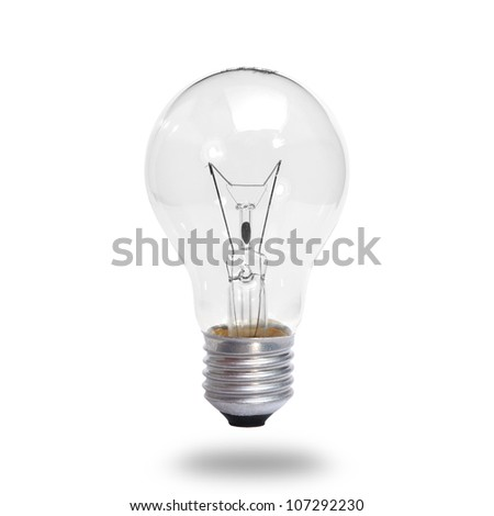 old generation bulb. - stock photo