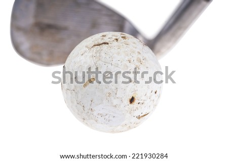 Old Golf - stock photo