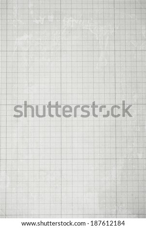 Old graph paper texture  - stock photo