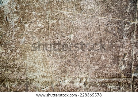 Old gray cracked concrete background - stock photo