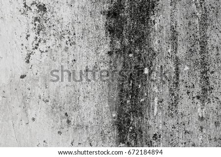 Old gray grunge texture with and pattern are for background