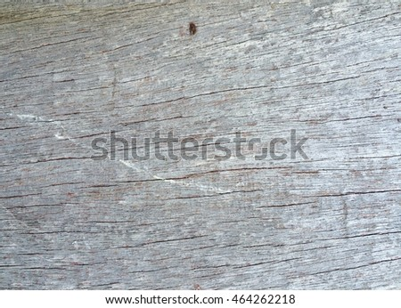 Old gray wood crack wall texture background