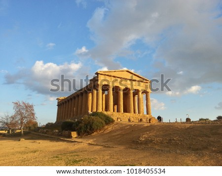 Old Greek Sicilian Cities: Agrigento
