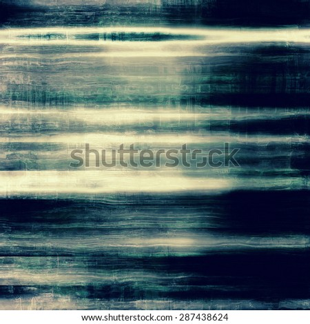 Old grunge antique texture. With different color patterns: brown; green; gray; blue - stock photo