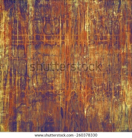 Old grunge antique texture. With different color patterns: yellow (beige); brown; gray; purple (violet) - stock photo
