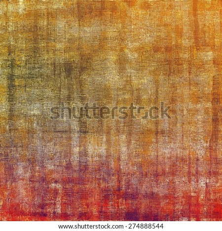 Old grunge antique texture. With different color patterns: yellow (beige); brown; purple (violet); red (orange) - stock photo