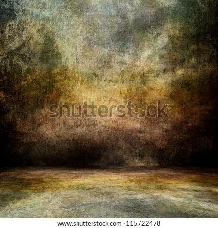 Old grunge background - stock photo