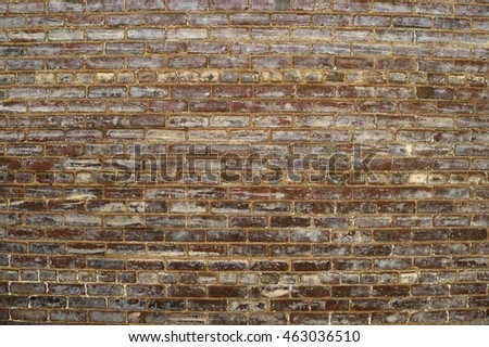 Old grunge brick wall backdrop
