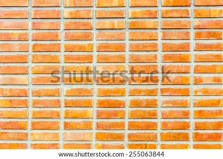 Old grunge brick wall in a background image