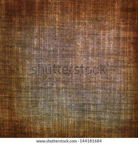 Old grunge canvas texture or background - stock photo