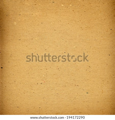 Old grunge cardboard sheet of paper for design - stock photo